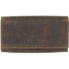 9ab318f0a Greenburry Kožená peněženka 1669 25 hnědá
