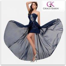 e26472e00e0b Grace Karin luxusní společenské šaty CL3443 modrá