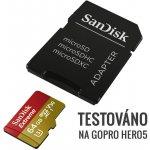 SanDisk microSDXC Extreme 64GB UHS-I U3 + adaptér SDSQXVF-064G-GN6MA