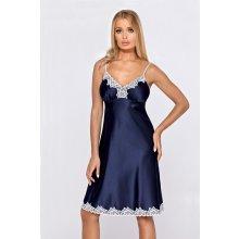 Hamana Loris long noční košilka blue navy modrá - navy 04043b9f4af