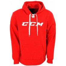 Pánská Mikina CCM Logo Hoody Red
