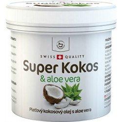 Herbamedicus kokosový olej Super Kokos s aloe vera pleťový 150 ml