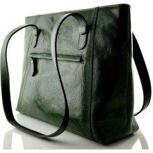3f3ac2da8f Silvercase Sněžka Náchod nadčasová kožená kabelka zelená