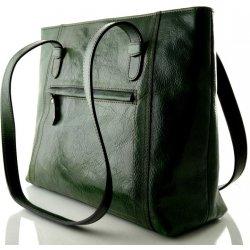 619ec90dead7 Silvercase Sněžka Náchod nadčasová kožená kabelka zelená od 3 690 Kč ...