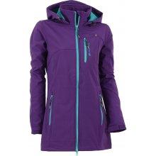 Alpine Pro Dámský softshellový kabát Bimisa tmavě fialová
