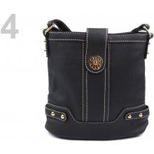 Stoklasa kabelka s dlouhým uchem 4 černá