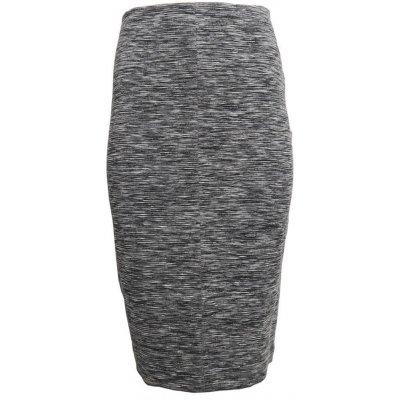 Superdry melírovaná sukně Superdry šedá