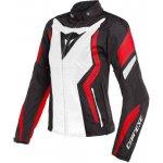 Dainese EDGE LADY TEX černo-bílo-červená
