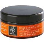 Apivita Propoline Citrus & Honey revitalizační maska na vlasy pro obnovu lesku (Dermatologically Tested) 200 ml