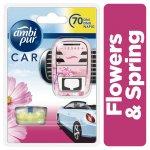Ambi Pur Car Flowers & Spring 7ml strojek + náplň