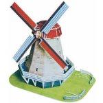 Hütermann 3D Puzzle skládačka Větrný mlýn z Holandska střední