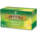 Twinings Zelený čaj s citronem 25 ks