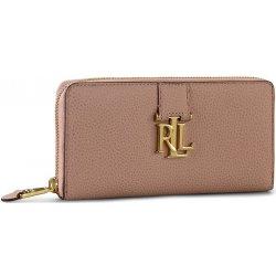 Ralph Lauren dámská peněženka Zip wallet N79 XZ0C2 XY0C2 XW4NQ Rose Smoke 364113fdcb4