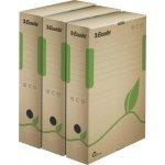 Esselte ECO archivační krabice100 mm hnědá