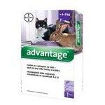 BAYER Advantage Spot On Advantage: 1x 80mg/4-8kg