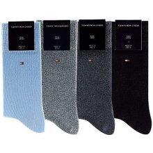 Tommy Hilfiger ponožky 4 páry námořnícká modrá