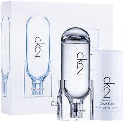 25f0467399 Calvin Klein CK2 unisex EDT 100 ml + deostick 75 ml dárková sada od 649 Kč  - Heureka.cz