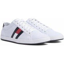 Tommy Hilfiger bílé pánské tenisky Essential Flag Detail Sneaker White ccd848013c6
