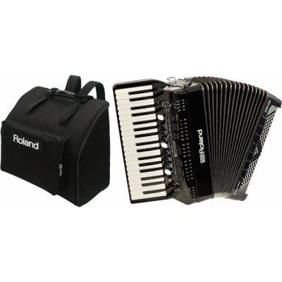 Roland FR-4x Black Bag SET Černá Klávesový akordeon + 1 rok prodloužená záruka zdarma