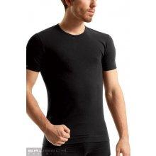 Pánské tričko BRUBECK SS 00990 Sleeve short černá