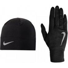 Běžecký set NIKE Beanie Čiapka + rukavice čierrna aaaee0e5d2