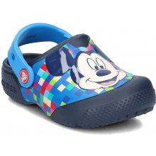 Crocs Chlapecké sandály FunLab Mickey Mouse modré 87c08a08da