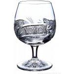 ONTE CRYSTAL Broušené skleničky na rum/brandy/koňak Kometa Balení Dárkové balení v saténu 2 ks 280ml