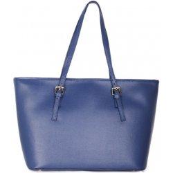381c4b19ea08 Italské Modré dámské kožené kabelka velké Verona