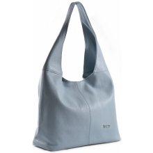 751f53df85 Bright Fashion kabelka vak kožená A4 sv. modrá