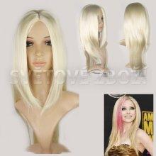V&V fashion Dámská paruka Catherine blond 60 cm