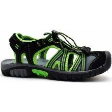 80fcb6afcbc5 V+J obuv Scandi 55-0248-X1 černozelené