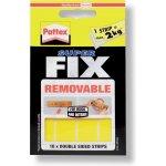 Pattex Super Fix lepicí proužky 4 cm x 2 cm/10 ks