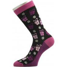 Pondy dámské vánoční ponožky srdce typ 5
