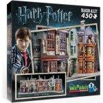 WREBBIT 3D puzzle 450 dílků Harry Potter Příčná ulice