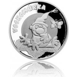 Česká mincovna Stříbrná mince Pohádky z mechu a kapradí Vochomůrka proof 10 g