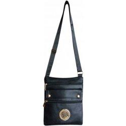 dámské crossbody kabelky z eko kůže černá 75bdab54961