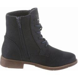 Dětská bota Tom Tailor Šněrovací kotníkové boty tmavě modrá 09f877c618