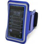 Pouzdro EMPA sportovní na ruku iPhone 4/4S modré