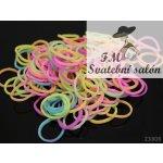 LOOM bands gumičky svítící pastelový MIX
