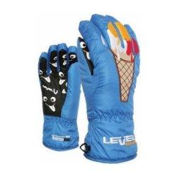 3d442edfdf9 Level Slurp 10 11 dětské lyžařské rukavice - červené od 450 Kč ...