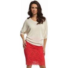 Enny dámská krajková sukně 210039 červená