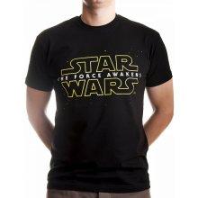 Star Wars Star Wars VII The Force Awakens Logo Black INDIEGO Indie0322