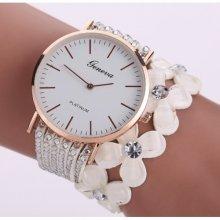 Fashion Jewelery Bílé s krystaly na omotávání