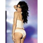 Obssesive Ivory corset dámský korzet krémová