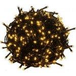 Vánoční LED osvětlení 5 m - teple bílá 50 LED - zelený kabel M46905