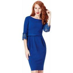 8a3b7e77d1a CityGoddess společenské šaty Annabell royal královská modrá ...