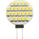 LED žárovka G4 1.2W 12V Teplá bílá