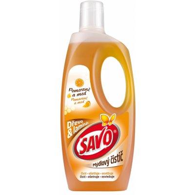 Savo mýdlový čistič dřevo a laminát 750 ml