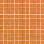 India - dlaždice mozaika 2,5x2,5 oranžová