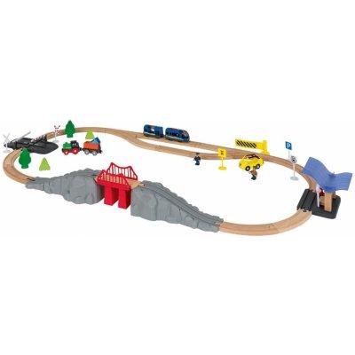 PLAYTIVE® dřevěná železnice 346908